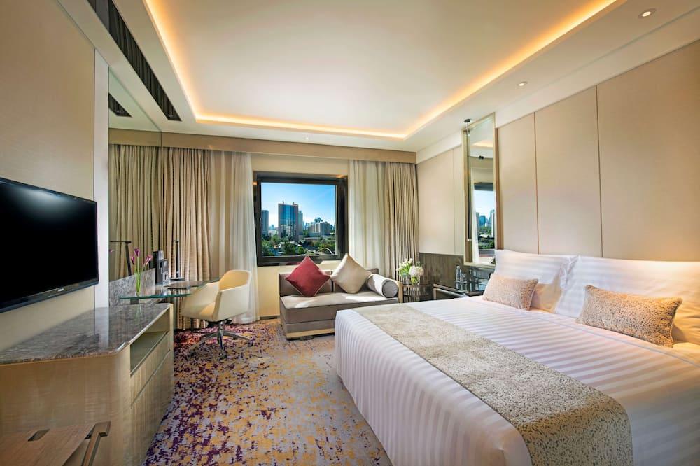 豪華客房, 1 張特大雙人床 (Grand) - 客廳