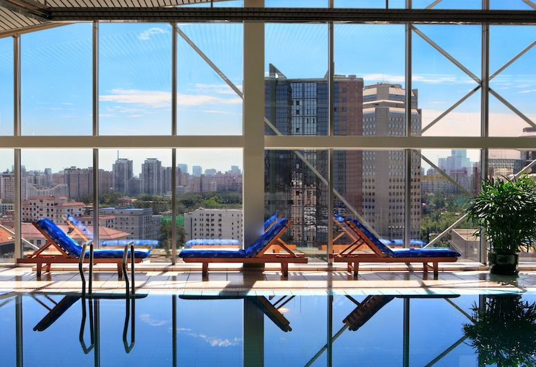 Kempinski Hotel Beijing Lufthansa Center, Peking, Superior-Doppel- oder -Zweibettzimmer, Nichtraucher, Poolzugang, Zimmer