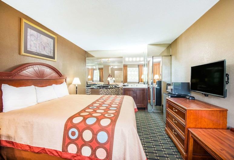 Super 8 by Wyndham Marysville, Marysville, Apartament typu Suite, Łóżko king, Pokój