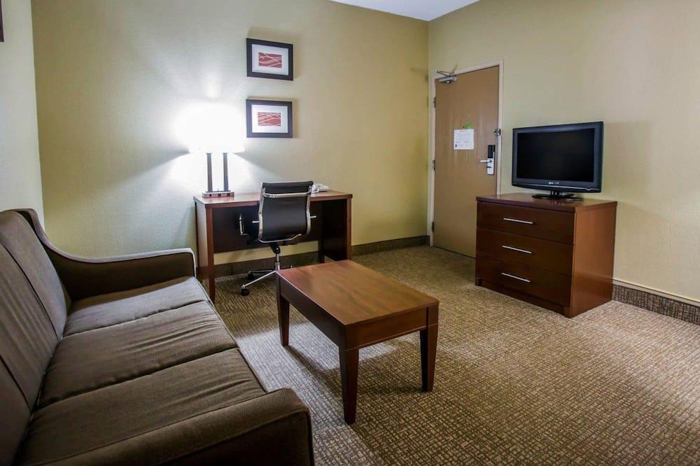 Standardní pokoj, 2 dvojlůžka (180 cm), nekuřácký - Obývací pokoj