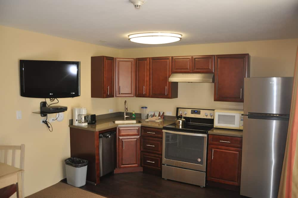 Basic-Zimmer, 1King-Bett, Gartenblick - Wohnbereich