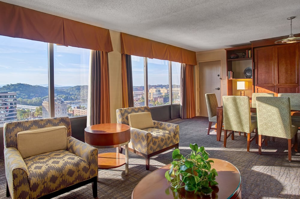 Luxury Room (Parlor) - Living Area