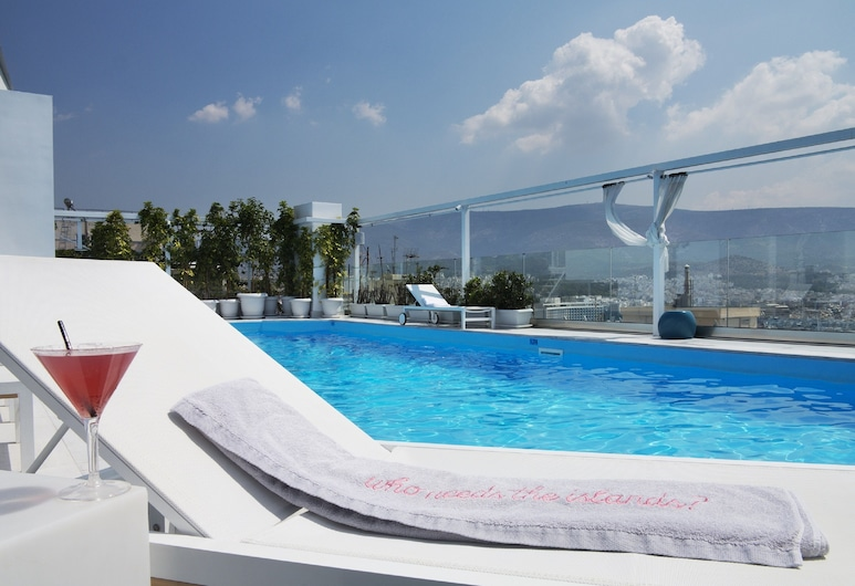 St George Lycabettus Hotel, Athens, Rooftop Pool