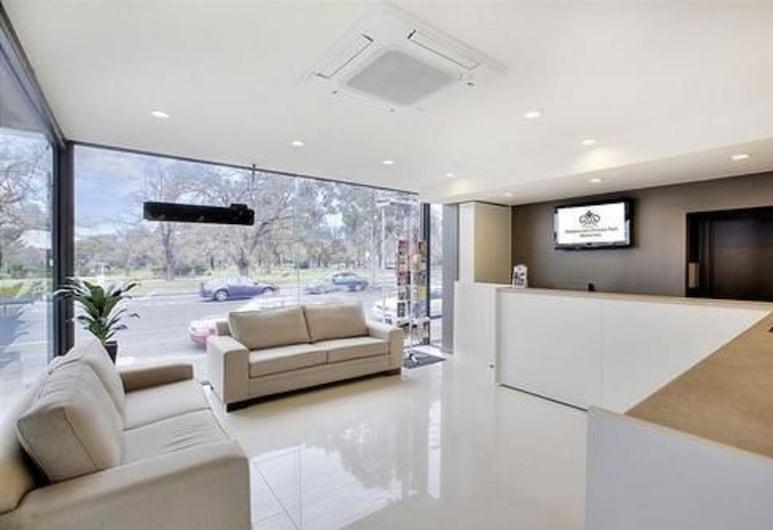 Melbourne's Princes Park Motor Inn, ברונסוויק, מבט לפנים המלון