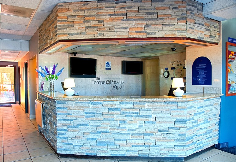 Hotel Tempe/Phoenix Airport InnSuites at the Mall, Tempe, Recepcja