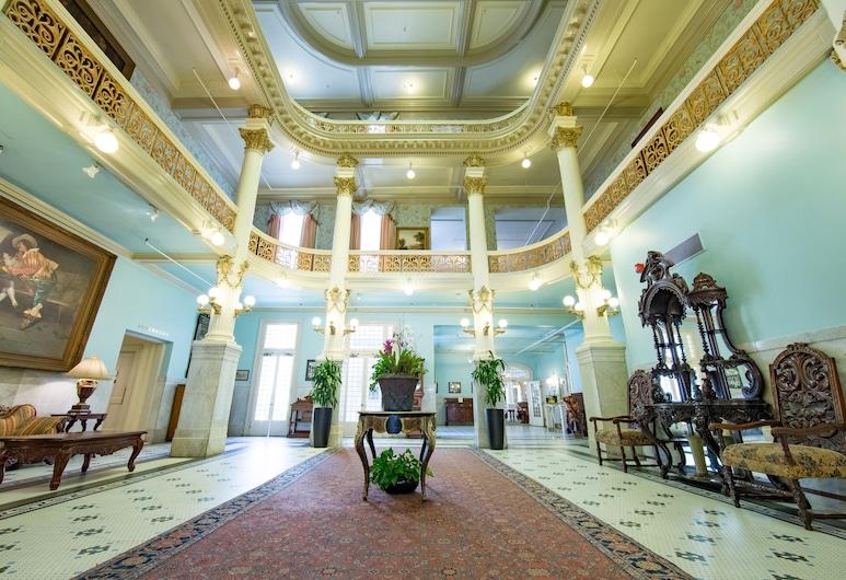 Menger Hotel, San Antonio, Vstupní hala
