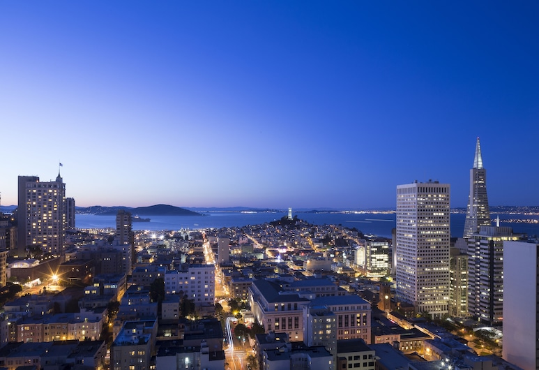 Grand Hyatt San Francisco Union Square, San Francisco, Room, 1 King Bed, Bay View, Water view