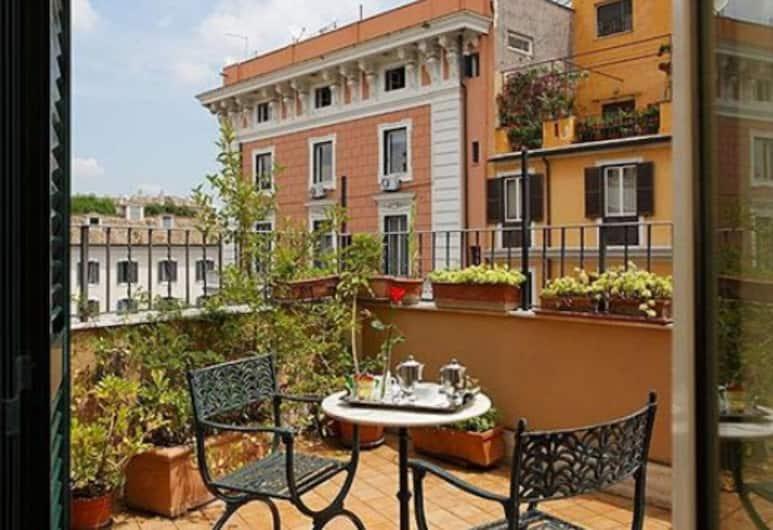 Hotel Hiberia, Roma, Suite, terrazzo, Balcone