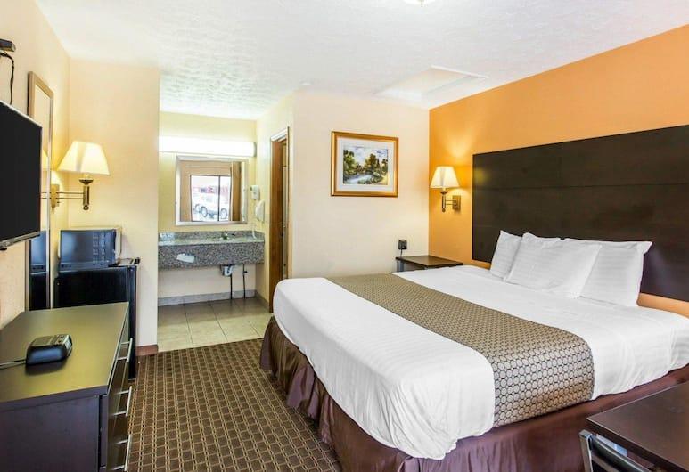 Econo Lodge North, Nashville, Standard szoba, 1 king (extra méretű) franciaágy, nemdohányzó, Vendégszoba