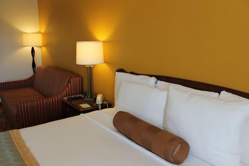 開放式客房, 1 張特大雙人床和 1 張沙發床 - 客房