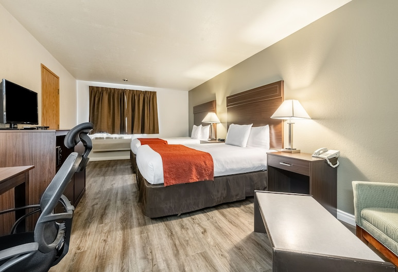 Econo Lodge Sequim, Sequim, Quarto Standard, 2 camas queen-size, Não-fumadores, Quarto