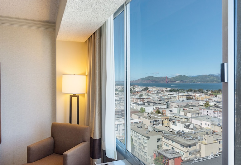 Comfort Inn by the Bay, San Francisco, Traditional Room, 2 Queen Beds, Bay View, Guest Room View