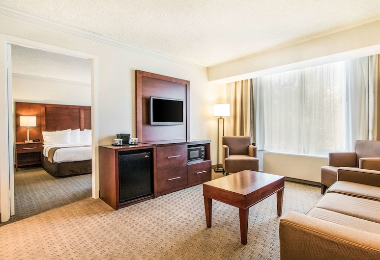 Comfort Inn by the Bay, San Francisco, Suite, 1 King Bed with Sofa bed, Accessible, Non Smoking, Guest Room