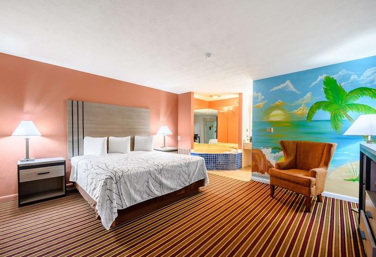 Americas Best Value Inn Heflin, Heflin, Suite, 1 King Bed, Smoking, Private spa tub
