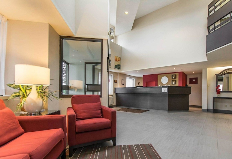Comfort Inn Val d'Or, Val-d'Or, Lobby
