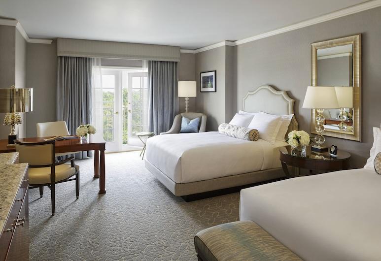 The Ritz-Carlton, St. Louis, St. Louis, Chambre Deluxe, 1 très grand lit, non-fumeurs, balcon, Chambre