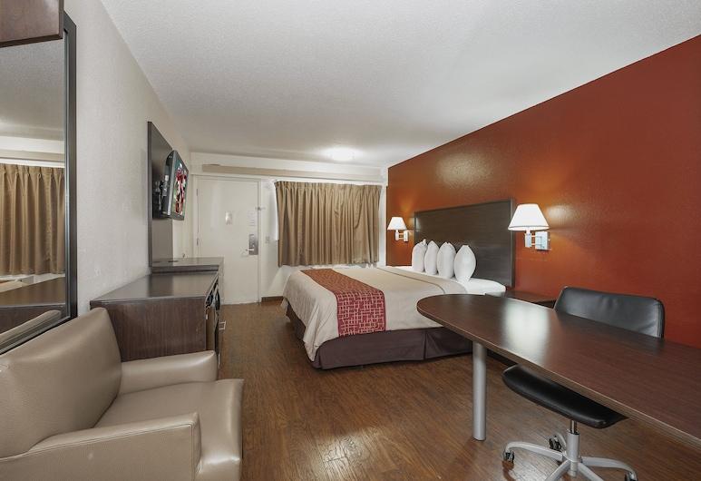 Red Roof Inn Jackson North - Ridgeland, רידג'לנד, חדר סופריור, מיטת קינג, ללא עישון, חדר אורחים