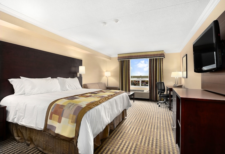Pearson Hotel and Conference Centre Toronto Airport, Toronto, Room, 1 King Bed with Sofa bed, Guest Room