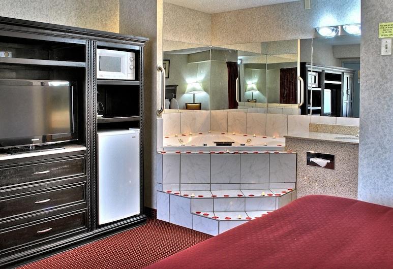 Quality Inn & Suites North, Gibsonia, Pokoj, dvojlůžko (200 cm), kuřácký, vířivka, Vířivka