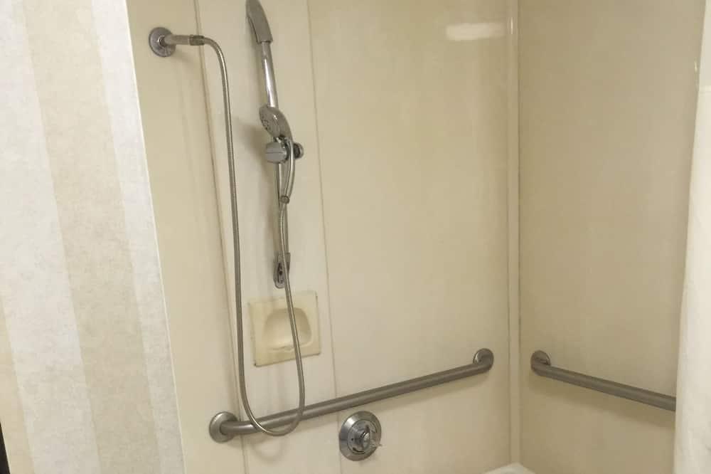 룸, 킹사이즈침대 1개, 장애인 지원, 금연 - 욕실