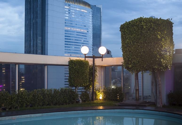 卡薩布蘭卡酒店, 墨西哥城, 天台泳池