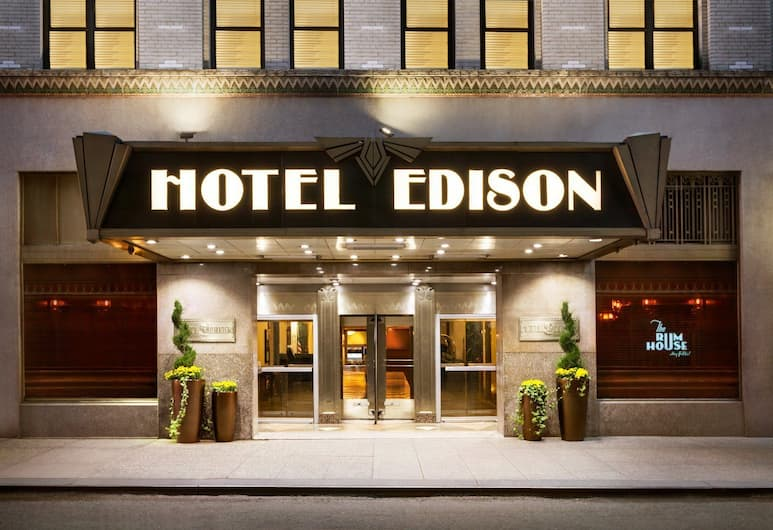 Hotel Edison, New York, Hotellets front