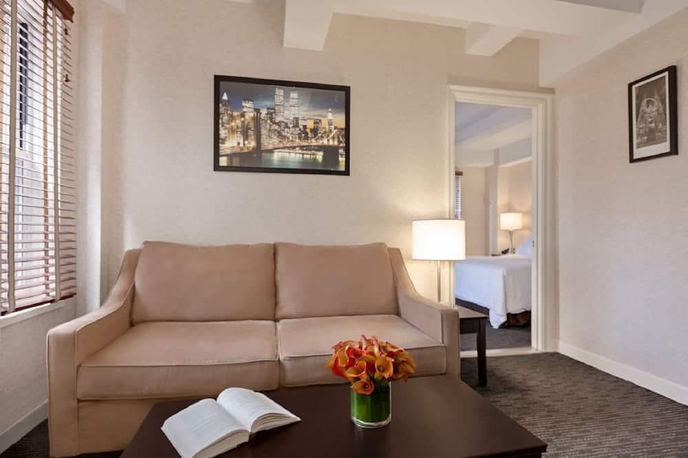 Klasisks luksusa numurs, viena guļamistaba - Dzīvojamā istaba