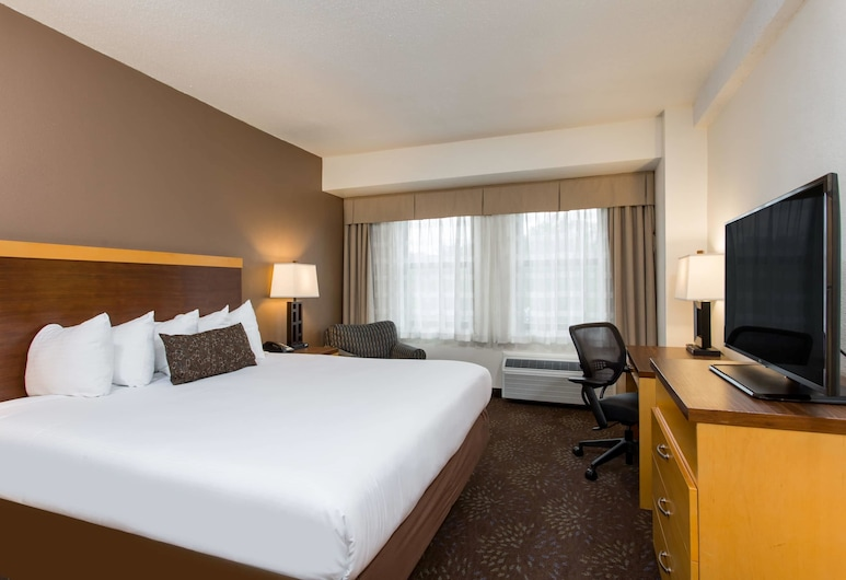 Days Inn by Wyndham Washington DC/Connecticut Avenue, Washington, Room, 1 King Bed, Non Smoking, Guest Room