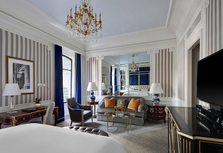 The St. Regis New York, Nova York, Quarto luxo, 1 cama King, para não fumantes, Quarto