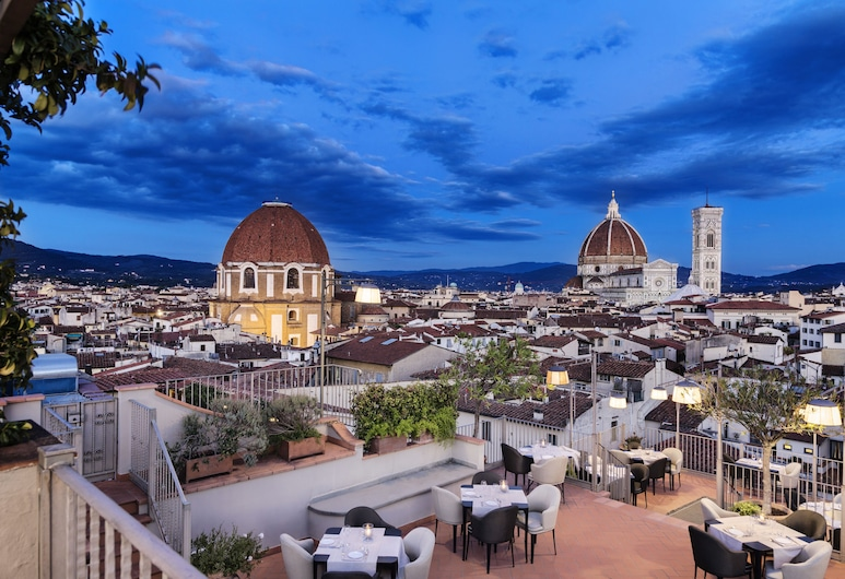 Grand Hotel Baglioni, Florence, Terrasse/Patio