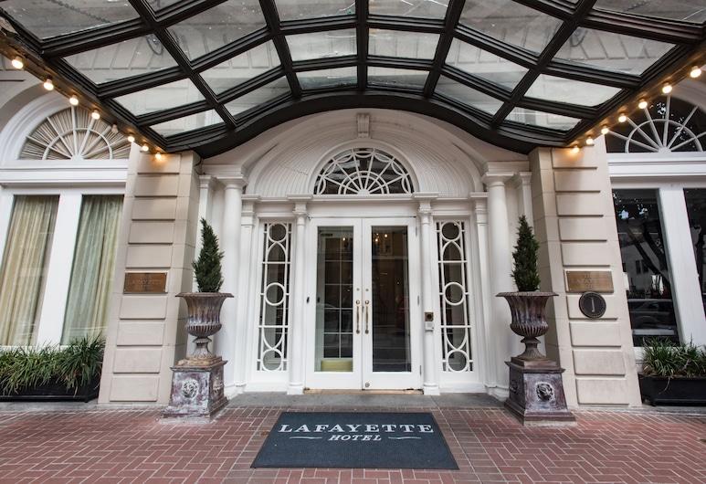 拉斐特酒店, 新奥爾良, 酒店正面