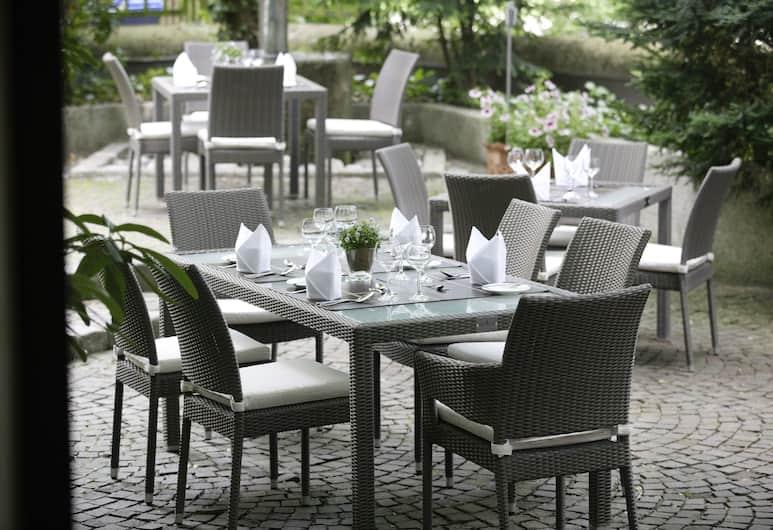 Hotel Erzgiesserei Europe, Monaco di Baviera, Giardino