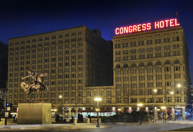 Congress Plaza Hotel, Chicago, Außenbereich