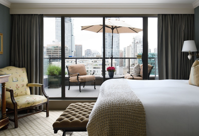 Wedgewood Hotel & Spa - Relais & Chateaux, Vancouver, Penthouse (14th Floor), Gästrum