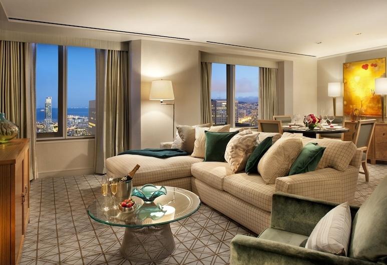 Loews Regency San Francisco, San Francisco, Suite, 1 King Bed, Terrace (Regency Skyline), Living Area