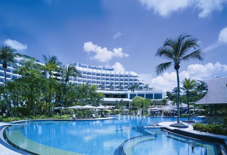 Shangri-La's Rasa Sentosa Resort & Spa, Singapore, Family Garden King Room, Hotel Front