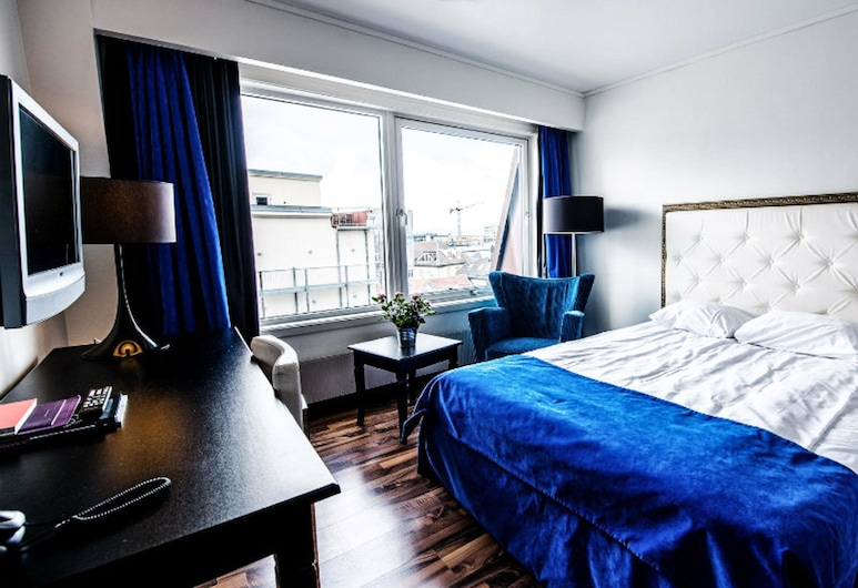 Clarion Collection Hotel Grand Olav, Trondheim, Rom – economy, 1 enkeltseng (Includes a light evening meal), Gjesterom