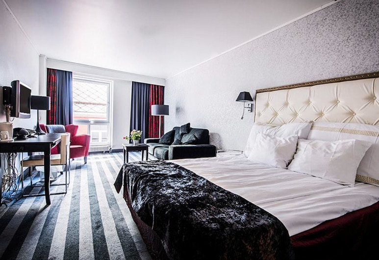 Clarion Collection Hotel Grand Olav, Trondheim, Pokój dwuosobowy typu Superior, dla niepalących, Pokój