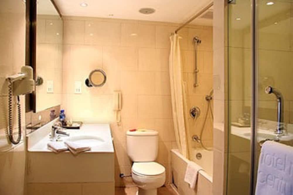 Quarto Executivo, 1 cama king-size - Casa de banho