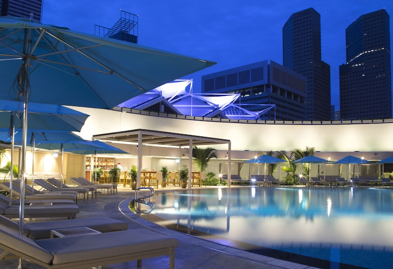 Pan Pacific Singapore, Singapur, Pool