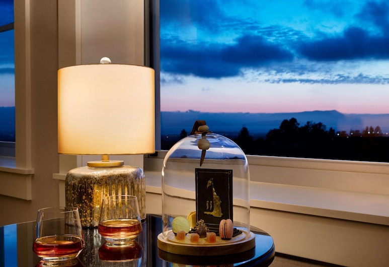Claremont Club & Spa - A Fairmont Hotel, Berkeley, Junior-Suite, 1 King-Bett, Ausblick (Claremont), Zimmer