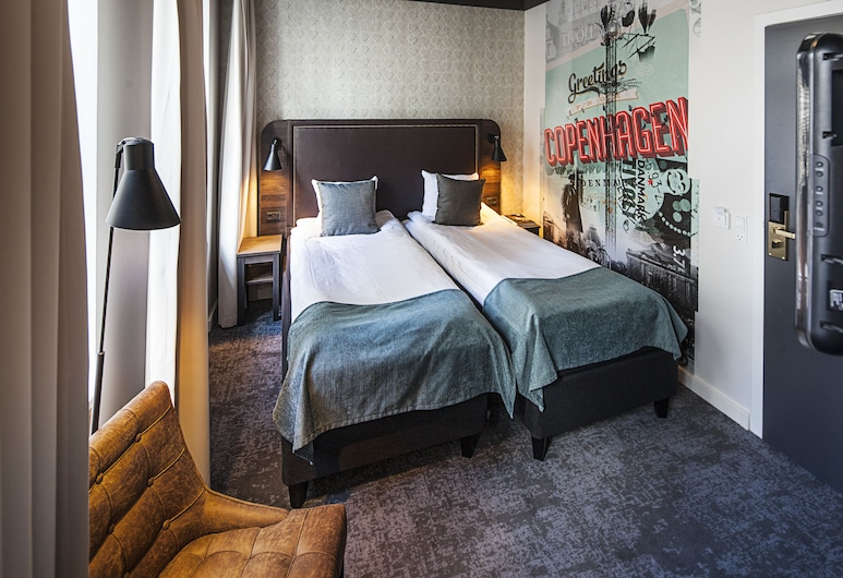 Hotel Mayfair, Kopenhaga, Pokój dla 2 osób standardowy, Pokój