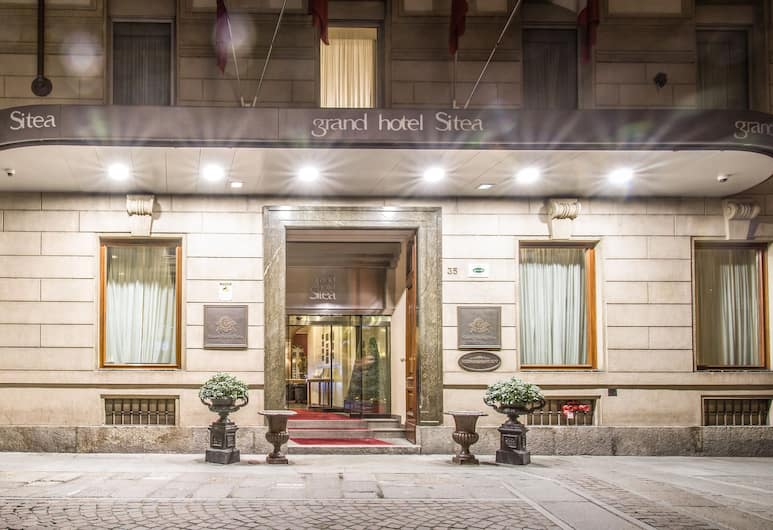 Grand Hotel Sitea, Torino, Facciata hotel