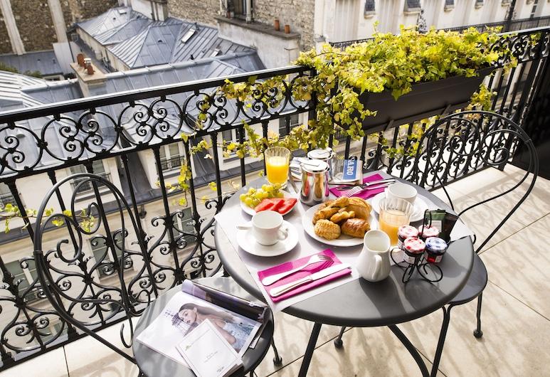聖彼德堡酒店, 巴黎, 豪華雙人或雙床房, 露台, 露台