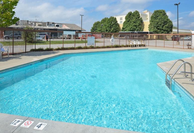 維多利亞新式套房飯店, 奧馬哈, 游泳池