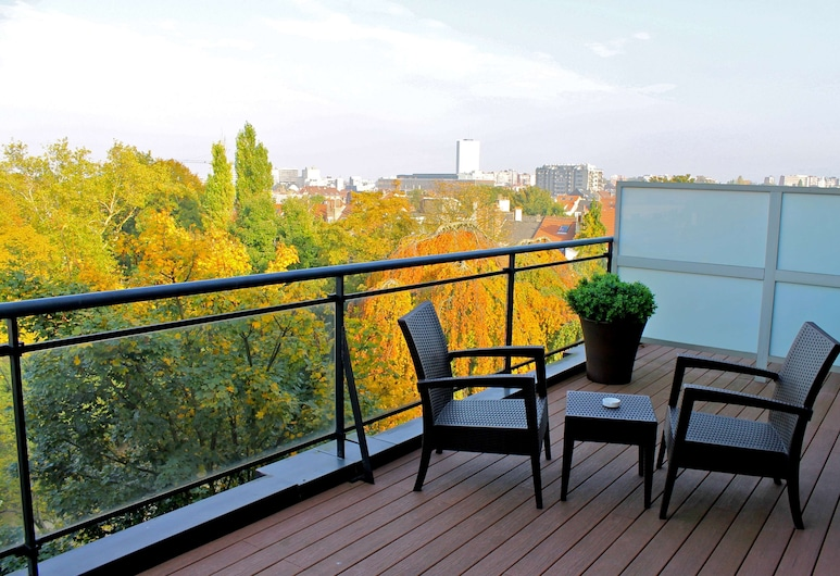 Hotel Catalonia Brussels, Brussels, Premium Room, Terrace, Guest Room