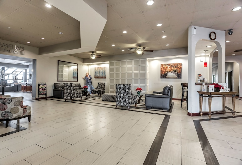 Ramada by Wyndham Salt Lake City Airport Hotel, Salt Lake City, Puhkeala fuajees