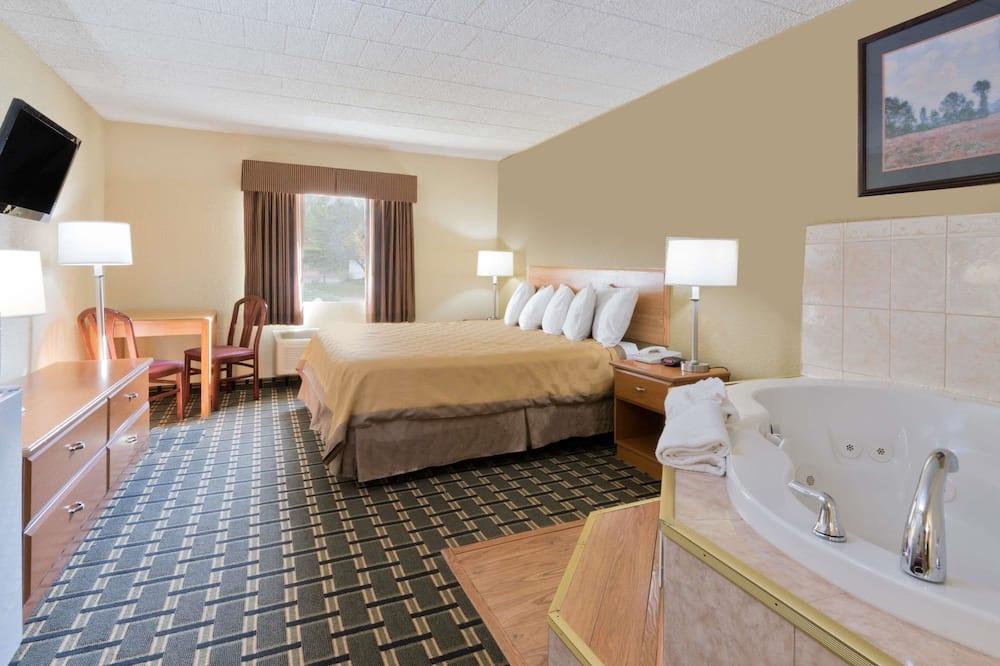豪華開放式套房, 1 張特大雙人床, 非吸煙房 - 客房
