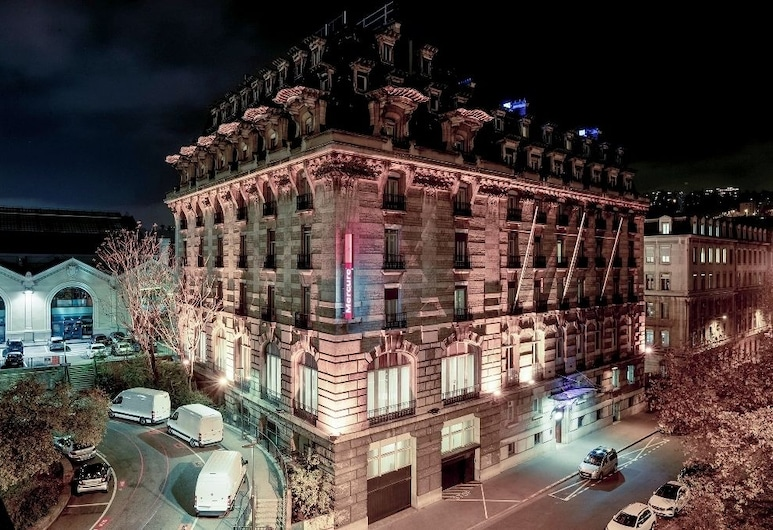 Mercure Lyon Centre Château Perrache, Lyon, Facciata hotel (sera/notte)