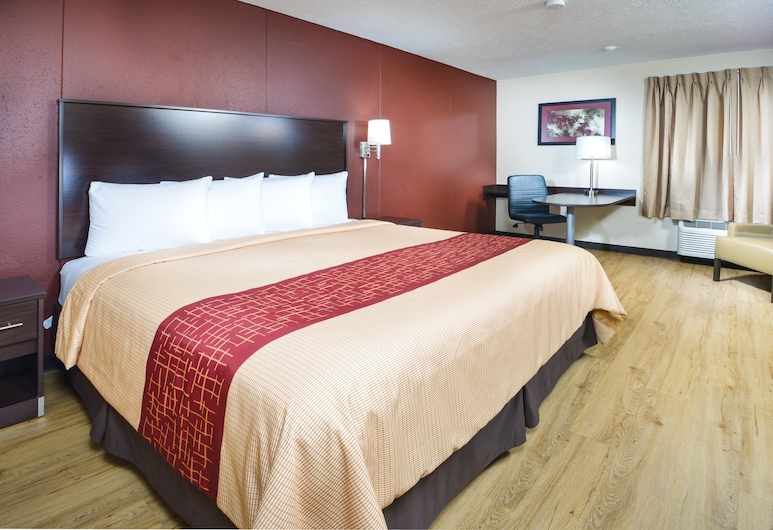 Red Roof Inn Paducah, Paducah, Superior Room, 1 King Bed, Smoke Free, Værelse